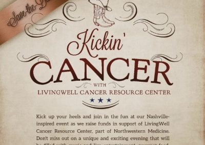 Kickin Cancer Benefit