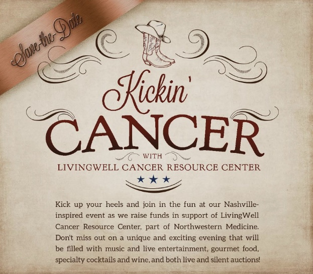 Kickin'Cancer event.